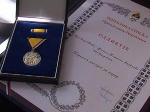 Posthumna odlikovanja poginulim borcima Srpske