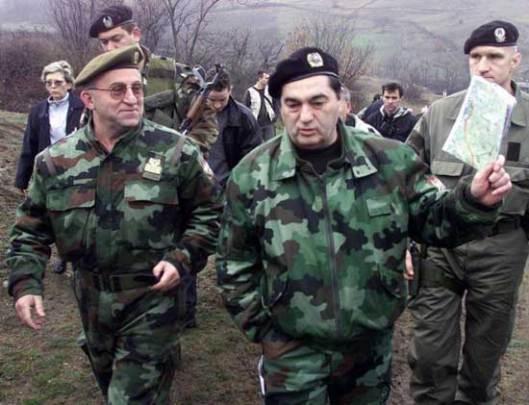 Nebojša Pavković i Vladimir Lazarević