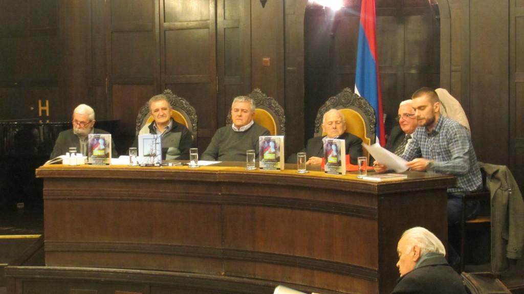 Promocija knjige Nikole Kobca u Banskom Dvoru u Banja Luci.