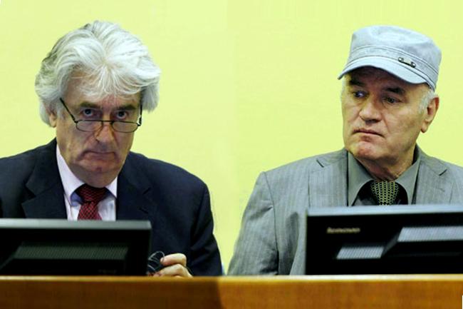 Radovan Karadžić i Ratko Mladić