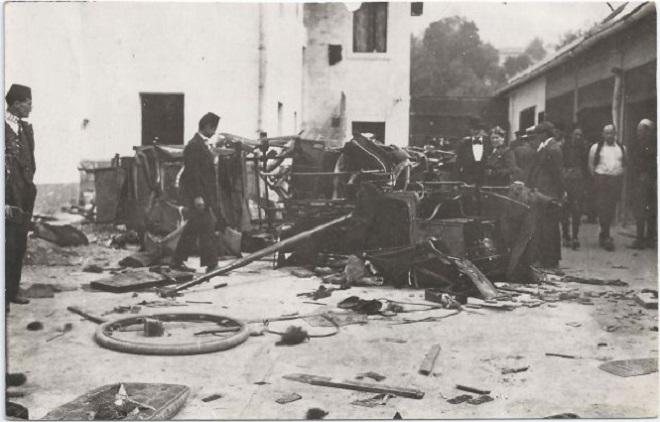 Uništavanje srpske imovine u Sarajevu 1914. godine