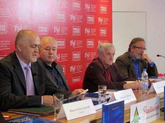 General Vinko Pandurević - promocija knjige u Beogradu