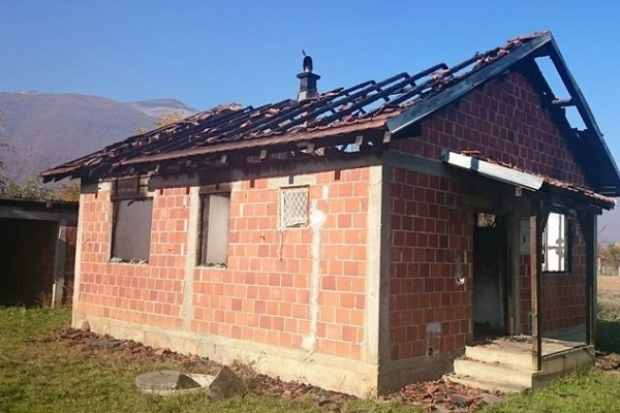 У повратничком селу Сига код Пећи запаљена је кућа Максима Јашовића