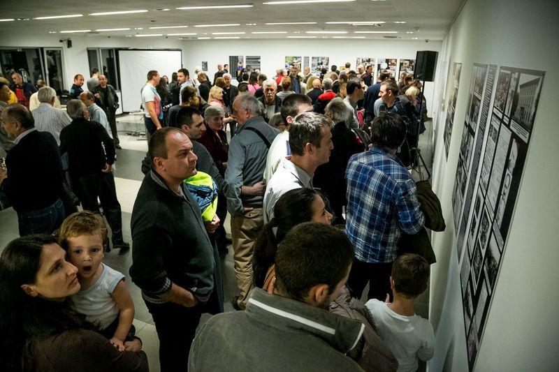 Sa otvaranja izložbe u Kulturnom centru Novog Sada