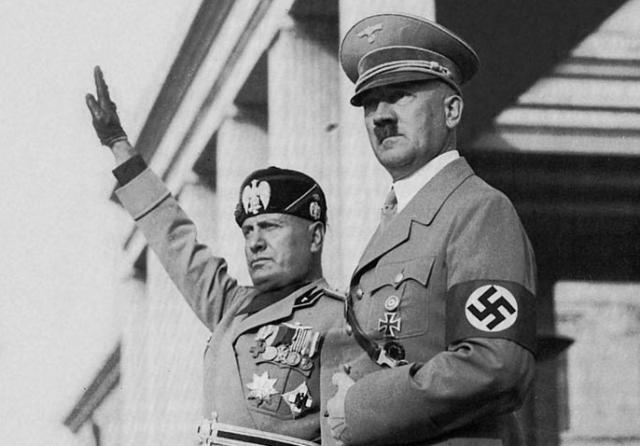 Adolf Hitler i Benito Musolini