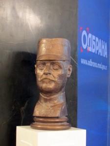 Otkrivena spomen-bista vojvodi Stepi Stepanoviću u Domu Vojske