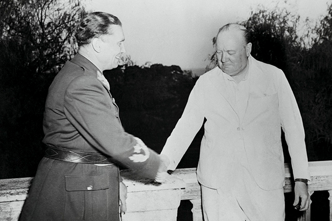Josip Broz i Vinston Čerčil