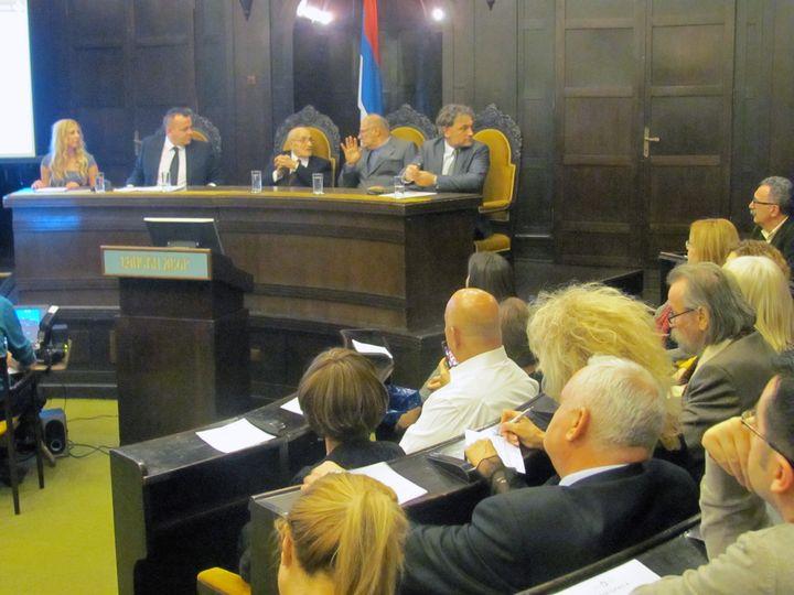 Osnivačka skupština Društva srpsko - jevrejskog prijateljstva