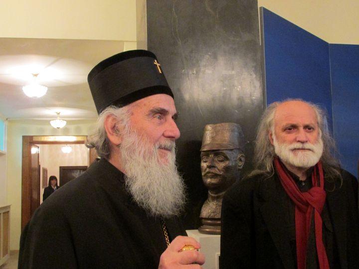 U Domu vojske u Beogradu svečano je otkrivena spomen-bista vojvodi Stepi Stepanoviću.