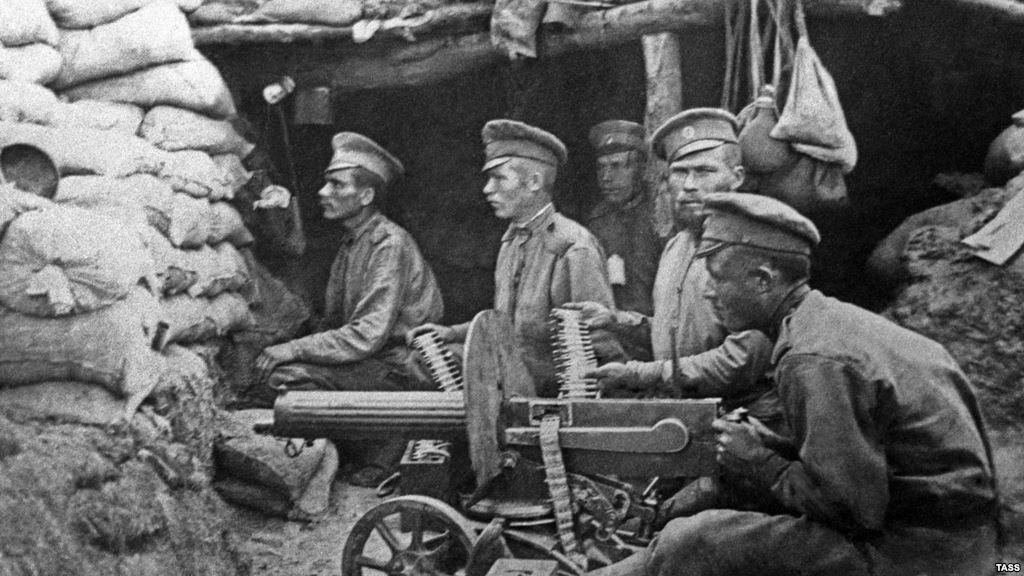 Ruski vojnici u Prvom svjetskom ratu