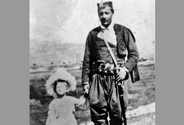 Serdar Janko Vukotić sa ćerkom Vasilijom