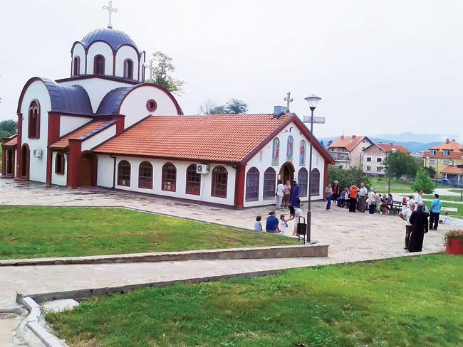 Crkva svetog Pantelejmona (Foto T. Todorović)