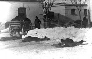 Žrtve racije u komandi XVI lovačkog bataljona