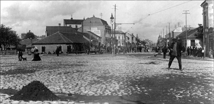 * 23. septembar 1914. Slavija u trenutku kada Austrougari granatiraju Dvor