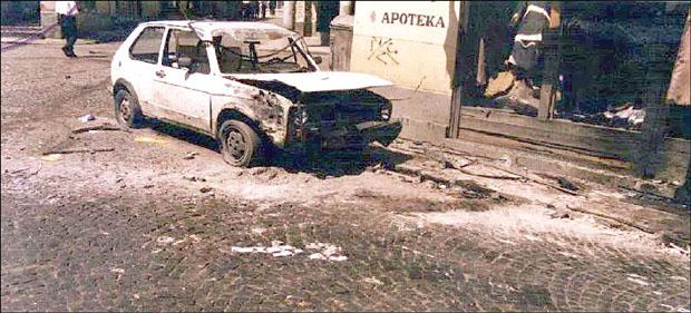 Trg Kapija 25. maja 1995.