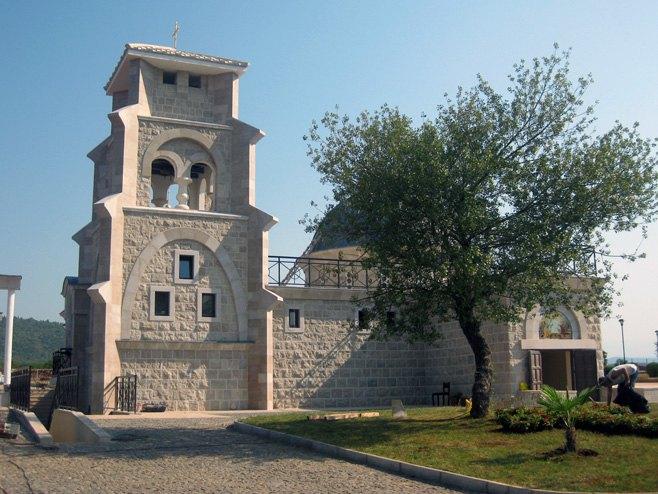 Hram Vaskrsenja Hristovog u Prebilovcima kod Čapljine  Foto: SRNA