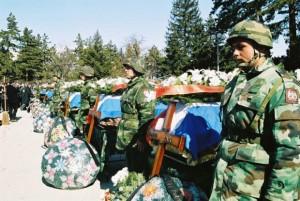 Sahrana srpskih vojnika