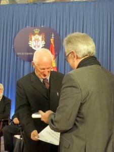 Vukova nagrada danas je uručena akademiku Matiji Bećkoviću