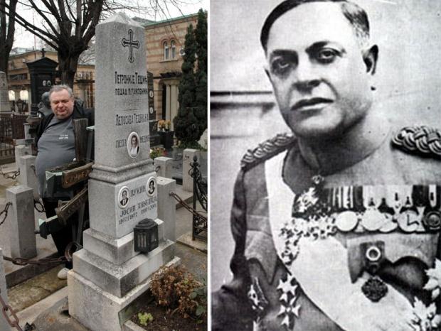 Унук мисли да су Недићеви посмртни остаци у породичној гробници Милан Недић