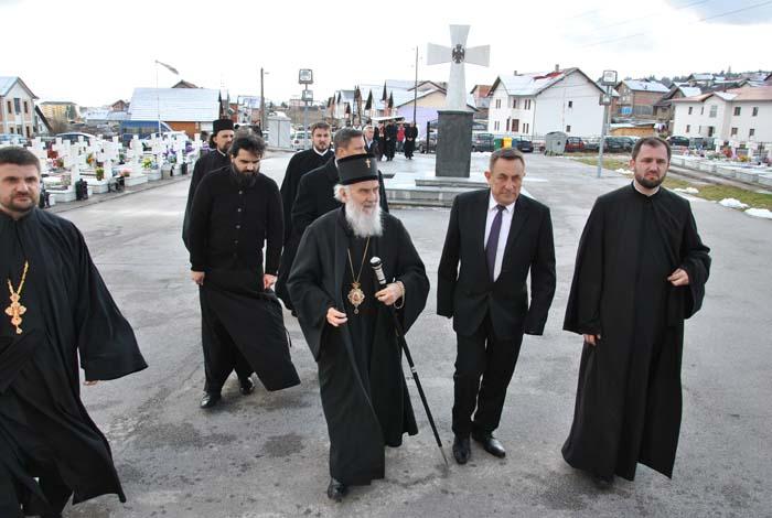 Његова светост патријарх Иринеј у посјети Малом Зејтинлику