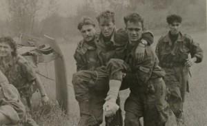 Ranjeni srpski vojnici