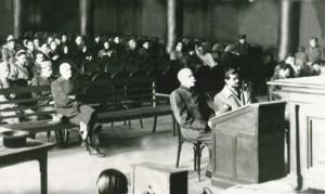 Sombathelji i Feketehalmi (desno) na suđenju 1946.