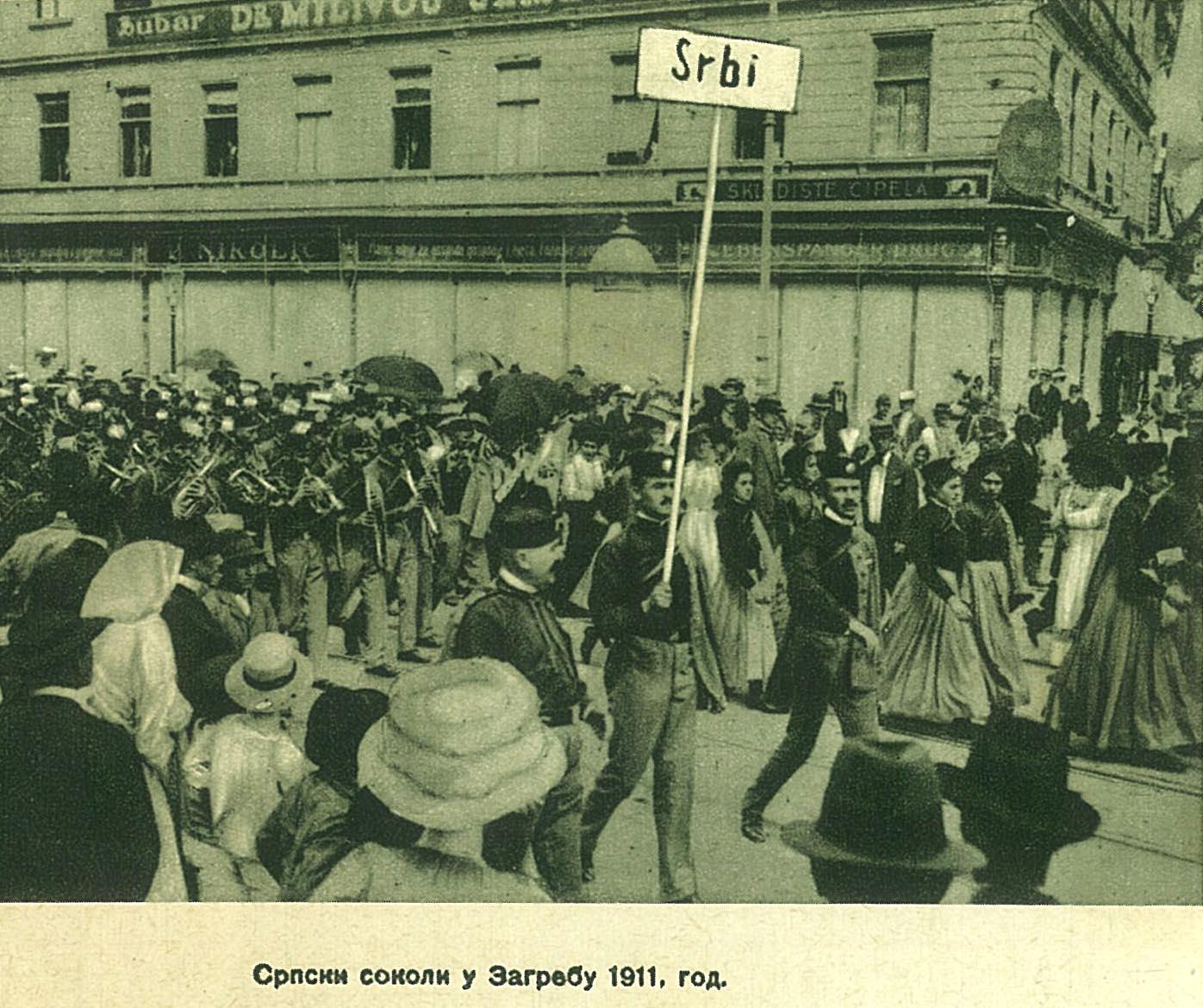 Srpski sokoli u Zagrebu