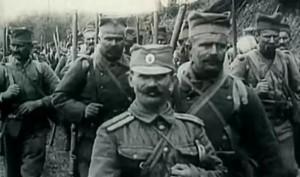 Srpski vojnici u Prvom svetskom ratu (Foto: Jutjub)