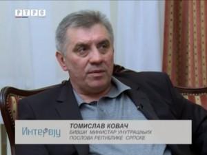 Intervju sa Tomislavom Kovačem Foto: RTRS