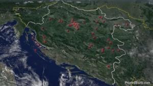 Mapa logora smrti u NDH