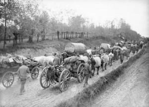 Povlačenje srpske vojske preko Albanije (Foto: Vikipedija)