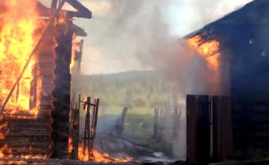 Zapaljena srpska kuća