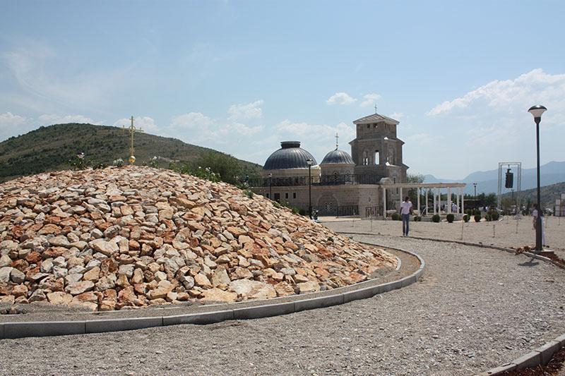 Hram Hristovog Vaskresenja u Prebilovcima (Foto: Slobodna Hercegovina)