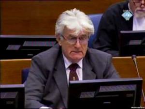 Radovan Karadžić Foto: Screenshot