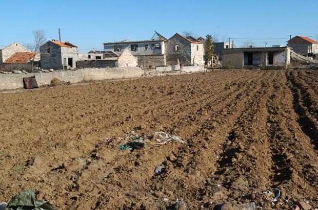 Spaljena srpska sela