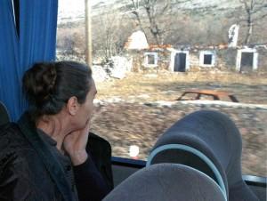 Spaljeno srpsko selo u Hrvatskoj