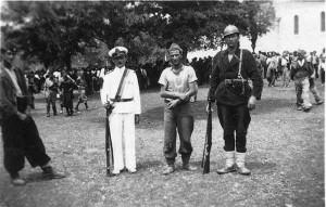 Dalmatinsko Kosovo, Vidovdan 1943. godine: ustaša zarobljen od strane četnika Dinarske divizije
