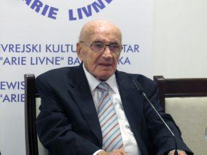 Predsjednik Jevrejske zajednice Banjaluka Arie Livne