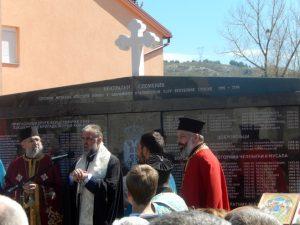 Gacko - Osveštan spomenik  Foto: SRNA