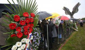 Sa jedne od komemoracija u Jasenovcu