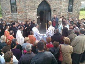 Komemoracija u Mlaki kod Jasenovca   Foto: nezavisne novine
