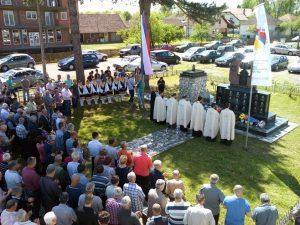 Modriča - parastos poginulim borcima Miloševca Foto: SRNA