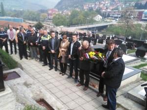 Obilježavanje fočanskih brigada Foto: SRNA