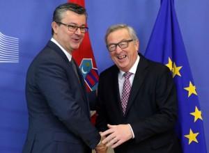Orešković i Junker