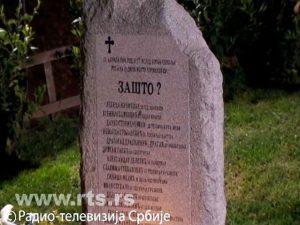 Spomenik ubijenim radnicima RTS-a Foto: RTS