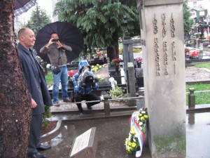 "Spomenik žrtvama tzv. veleizdajničkog procesa na groblju ""Sveti Pantelija"" Foto: SRNA"