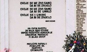 Sporni natpis na Tuzlanskoj kapiji
