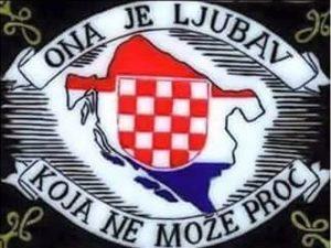 Mapa Nezavisne države Hrvatske /NDH/  Foto: SRNA