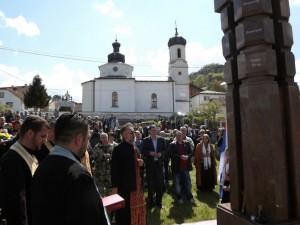 Višegrad: Sjećanje na ruske dobrovoljce Foto: SRNA