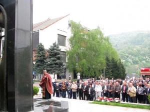 Zvornik: Obilježavanje Dana oslobađanja grada Foto: SRNA